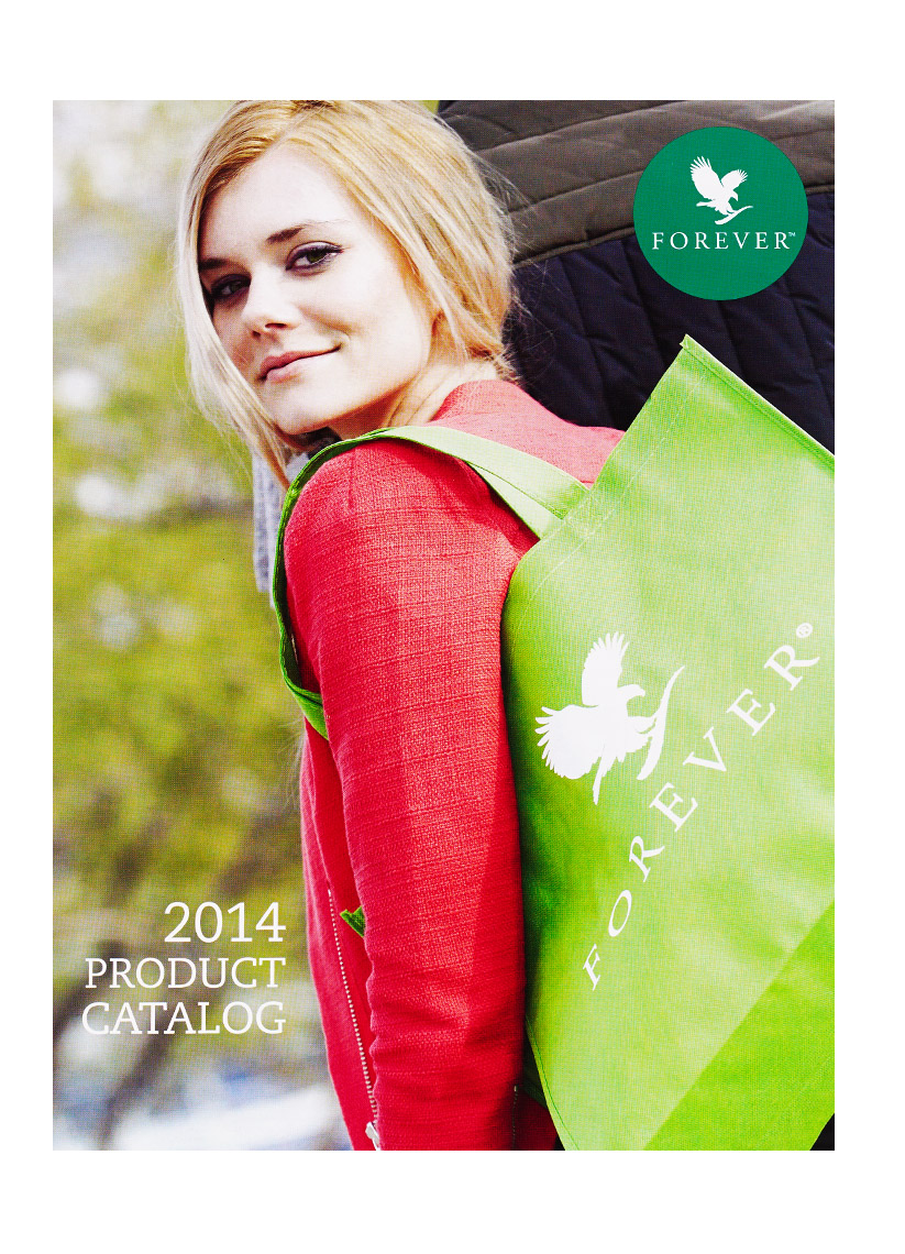 ForeverLiving 2014 Product catalog
